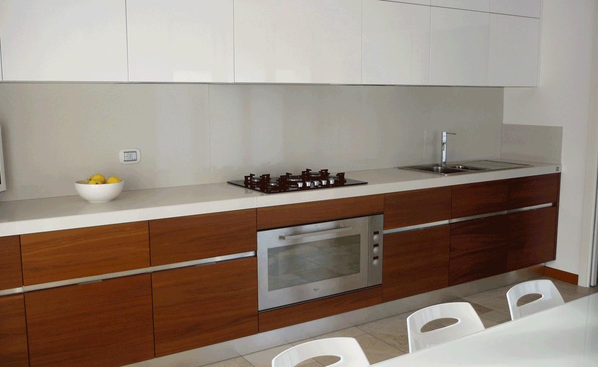 Cucina attico moderno brugherio ciciriello ristrutturazioni