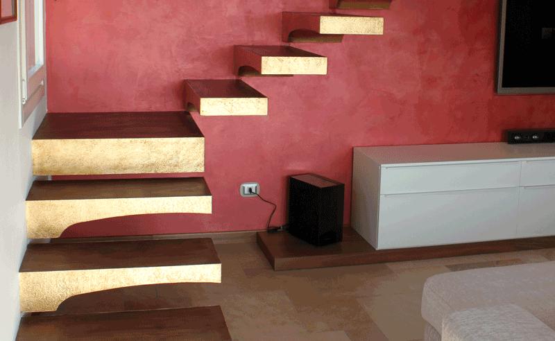 Scala attico moderno brugherio ciciriello ristrutturazioni